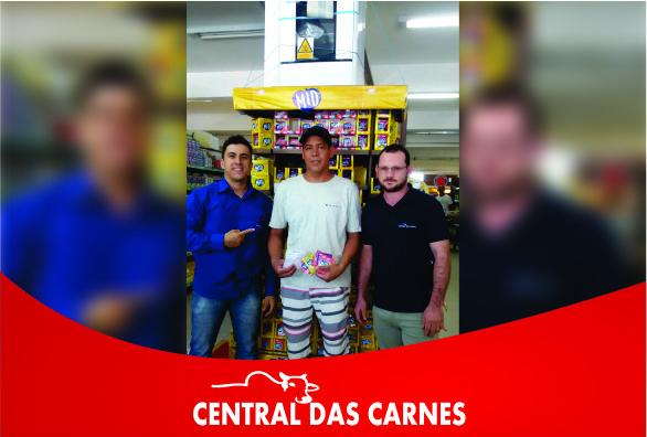 Central das Carnes divulga nome de ganhador da promoção