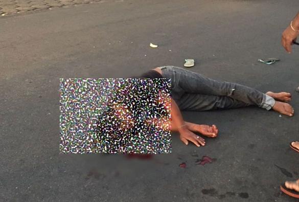 Após ameaçar pessoas com faca, homem é agredido por populares em Caetité