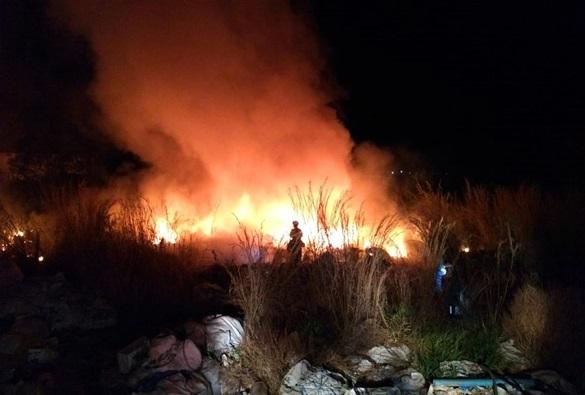 Incêndio atinge depósito de materiais recicláveis no Oeste da Bahia