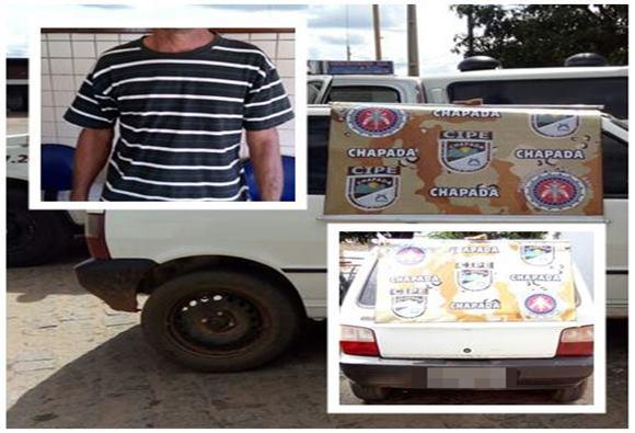 Polícia recupera veículo roubado em Paramirim
