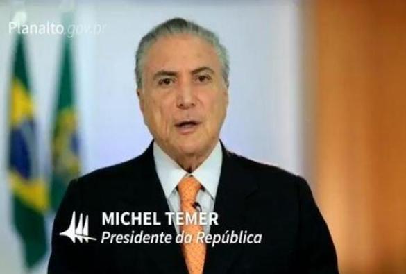 Temer divulga vídeo em que chama delação de executivo da Odebrecht de mentirosa