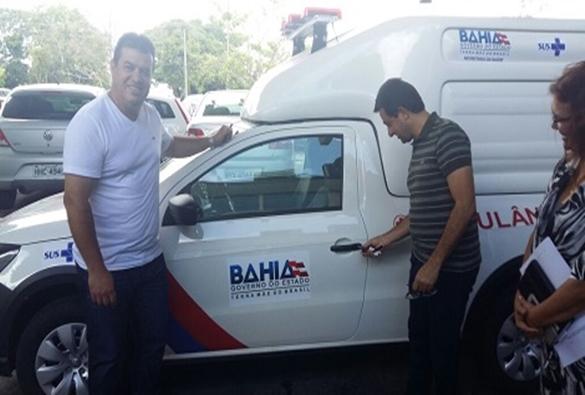 Rio de Contas: Cristiano Azevedo vai a Salvador buscar ambulância