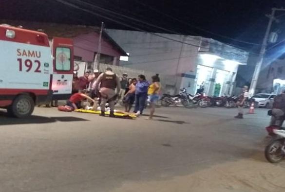 Avenida Leônidas Cardoso registra mais um acidente em Livramento