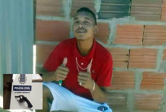 Brumado: perigoso assaltante tomba em confronto com equipes da Polícia Civil e Militar