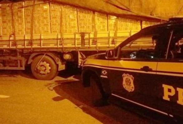 Jequié: PRF apreende mais de 13 mil litros de cerveja sem nota fiscal; carga saiu de Feira