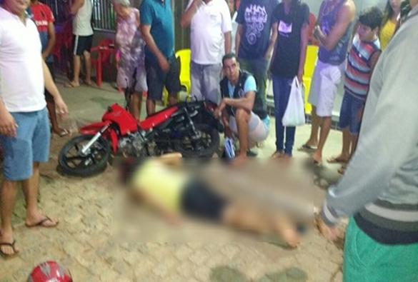 Livramento: Moto bate em outra e piloto fica ferido