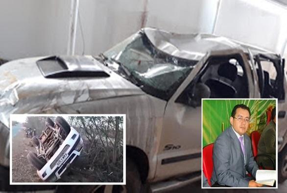 Pastor João Claudio do Distrito de São Timóteo escapa da morte pela segunda vez em acidente de trânsito