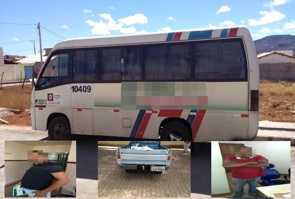 Motorista de micro-ônibus e comparsa são presos por tráfico de droga em Paramirim