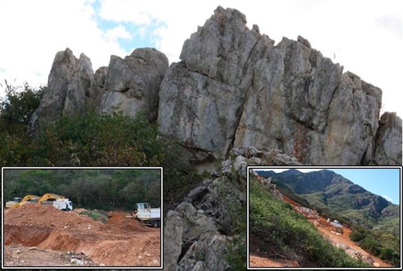 Gestores não fiscalizam  mineração no município de Livramento