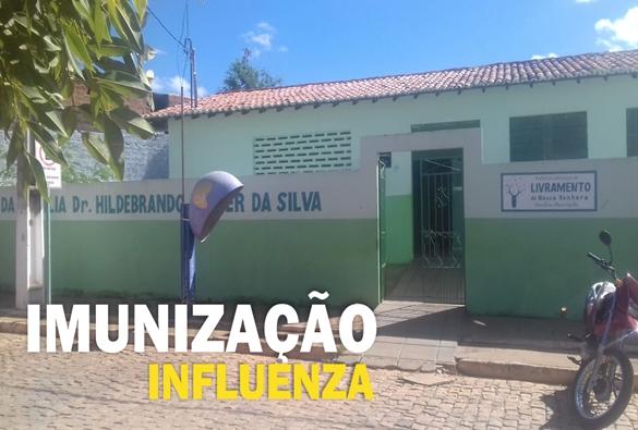 Livramento: Coordenador de Imunização diz que estoque de vacina contra gripe esta zerando