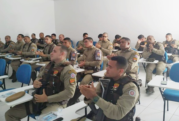 Polícia Militar de Livramento recebeu palestra de qualificação