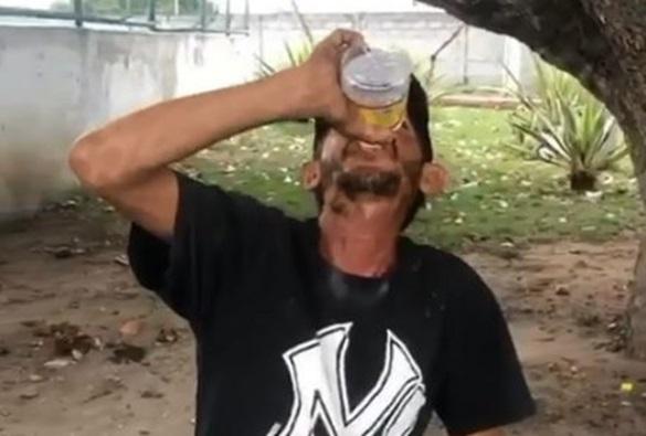 Morte de catador que ingeriu garrafa de bebida alcoólica inteira por dinheiro é investigada