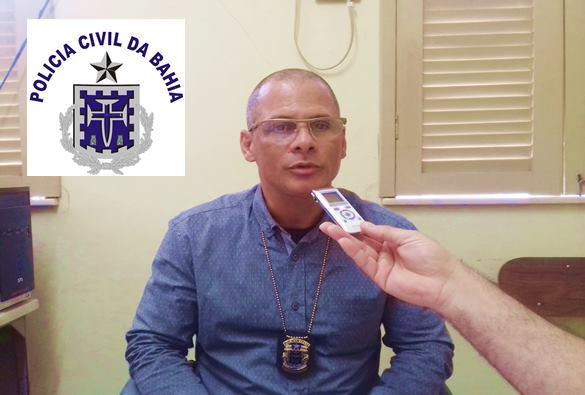 Novo delegado de Policia em Livramento Joildo Souza, concedeu entrevista ao Jornal da 88