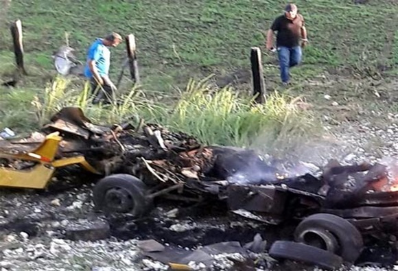 Quadrilha explode carro-forte na BA-263 próximo a Serra do Marçal