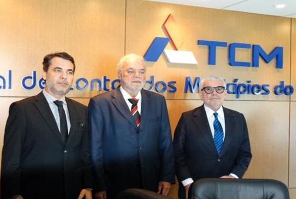 Bahia: Eleita nova mesa diretora do TCM