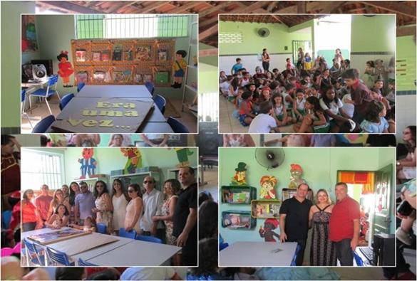 Livramento: escola Rômulo Galvão inaugura biblioteca