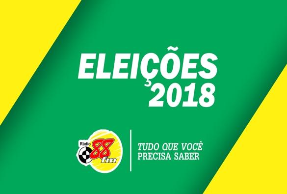 Confira reportagem especial da Rádio 88 FM sobre as eleições 2018