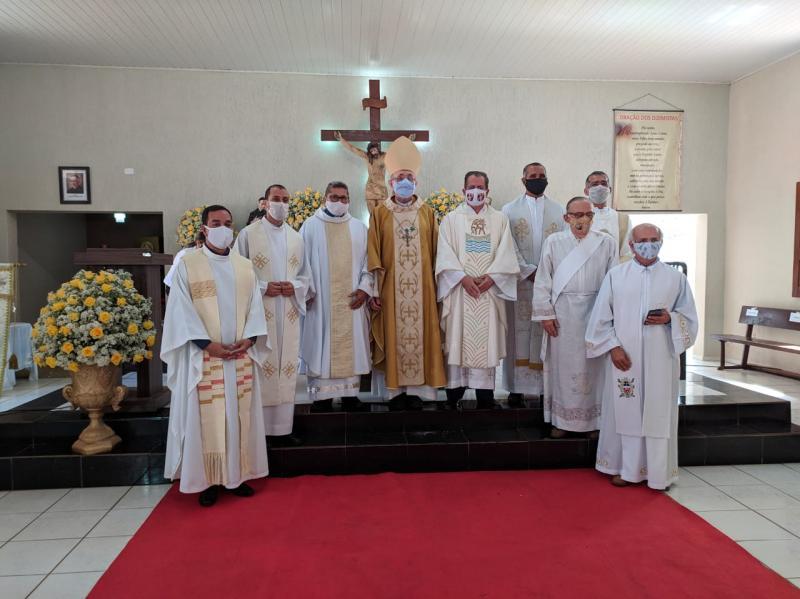 Encerrada a festa em louvor ao Bom Jesus e iniciado o novenário de Nossa Senhora do Livramento