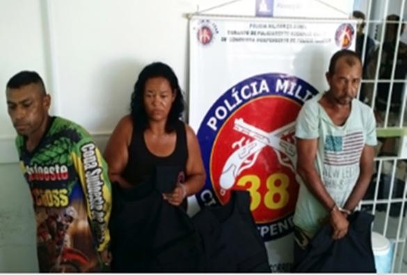 Bom Jesus da Lapa: em operação da polícia dois morrem e três são presos