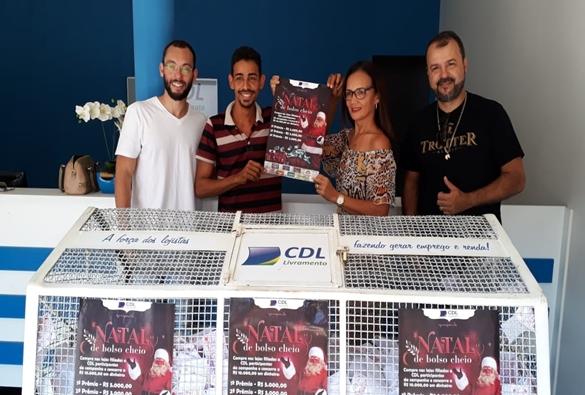 CDL Livramento realiza sorteio da promoção Natal de Bolso Cheio