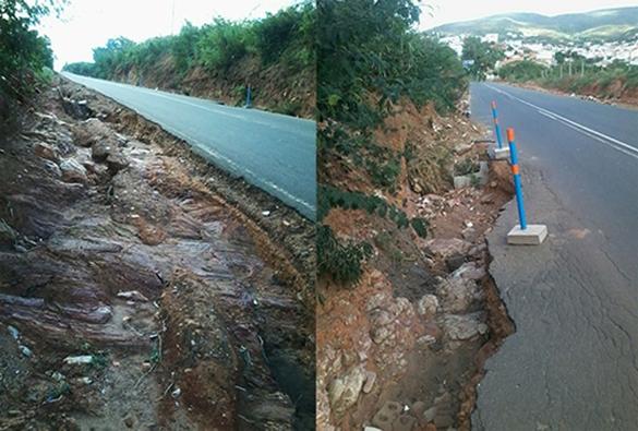 Situação precária da BR-430 preocupa motoristas pelo risco de acidentes em Caetité