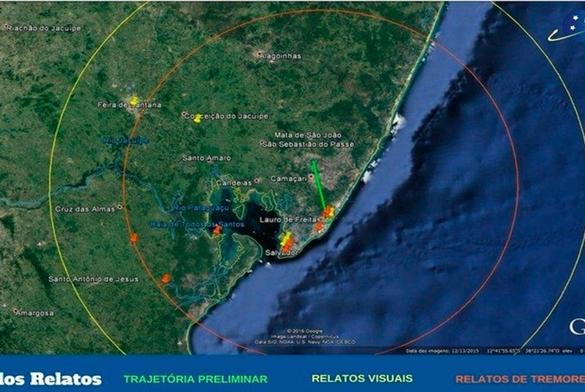 Bahia: Observatório aponta indícios de que tremor foi causado por meteoro