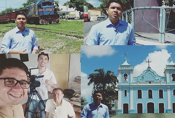 Estudante de Jornalismo brumadense retratará em TCC história da capital do minério