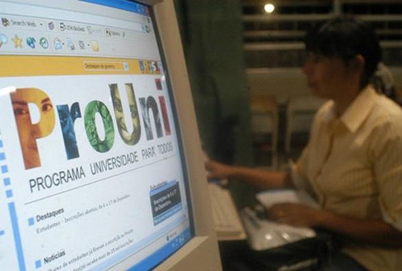 Inscrições para bolsas remanescentes do Prouni começam nesta segunda-feira (27)
