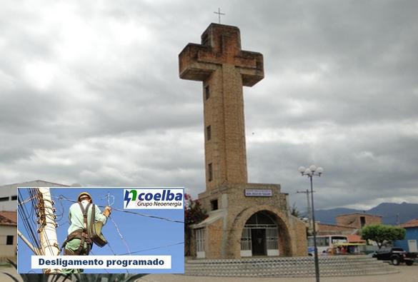 Coelba informa desligamento programado no bairro Taquari