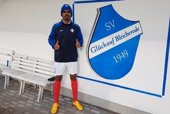 """Zagueiro livramentense 'Jucemar Bahia' é contratado pelo """"SV Glückauf Bleicherode"""" da Alemanha"""