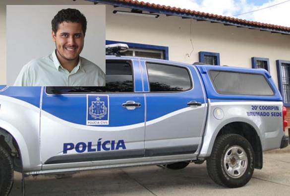Empresario César de Lim suspeito de assassinato em Brumado, foi preso pela policia na fronteira do Paraguai