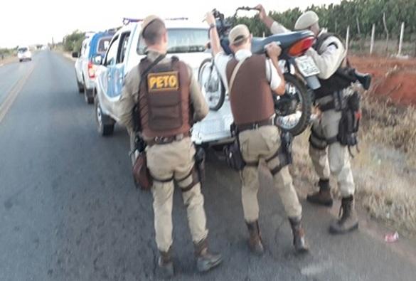 Polícia Militar de Livramento recupera duas motos roubadas e prende suspeito
