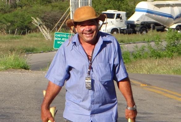 Radialista sofre grave acidente de moto na zona rural de Malhada de Pedras