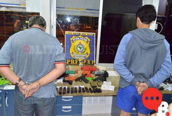 Conquista: Polícia prende servidor da Receita Federal com drogas, armas, munições e anabolizantes