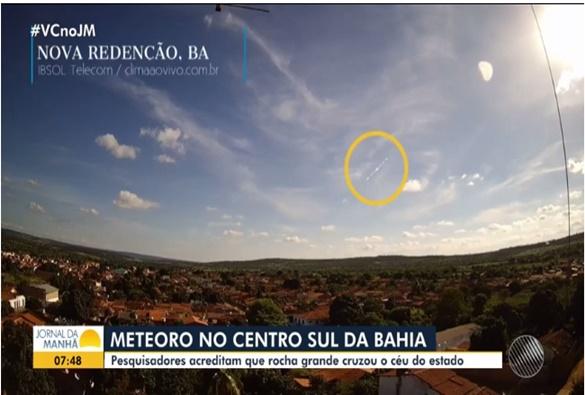 Moradores de Livramento e cidades vizinhas relatam ter ouvido forte barulho no céu