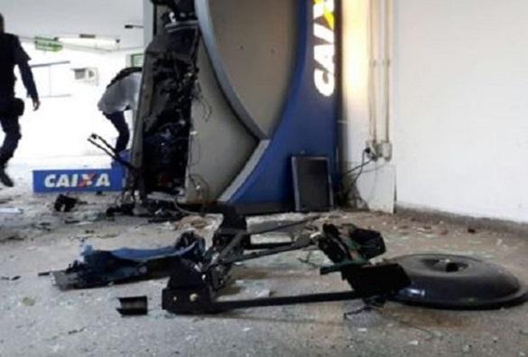 Bahia já contabiliza 61 explosões de caixas eletrônicos em 2017, aponta SSP-BA