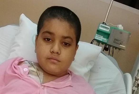 Erico Cardoso: Família faz campanha para conseguir doador de medula para garoto de 10 anos com leucemia