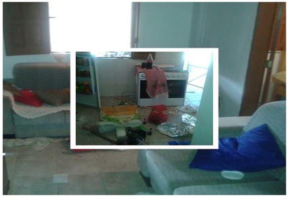 Casa é arrombada e roubada por meliantes na cidade de Paramirim