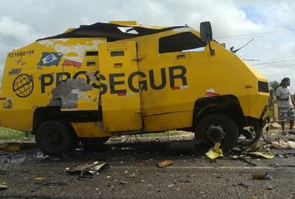 Bahia tem maior número de ataques a carros-fortes do país em 2018, aponta levantamento