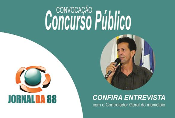 Convocação dos aprovados no concurso foi tema do Jornal da 88 desta última sexta 24/02