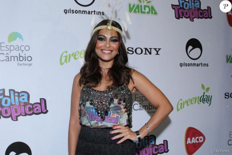 Juliana Paes vai desfilar como fã de Ivete Sangalo pela Grande Rio: 'Por amor'