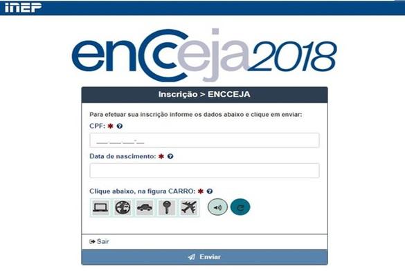 Inscrições para o Encceja 2018 estão abertas até 27 de abril
