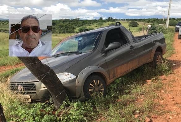 Livramento: Polícia suspeita de execução no caso do homem encontrado morto na estrada da Barrinha