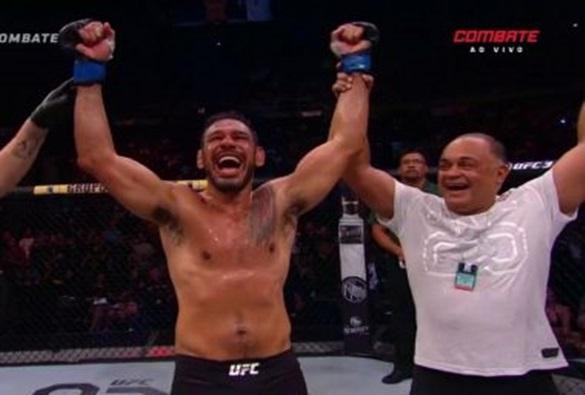 'Ele é uma lenda', diz Dórea sobre Minotouro após vitória no UFC aos 42 anos