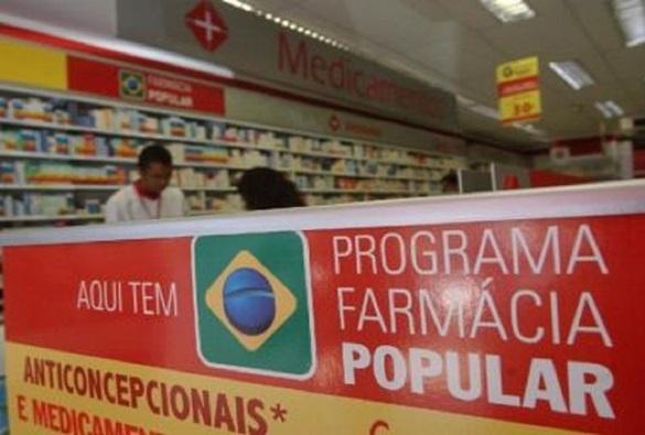 Farmácia Popular deixa de atender 7 milhões de pessoas