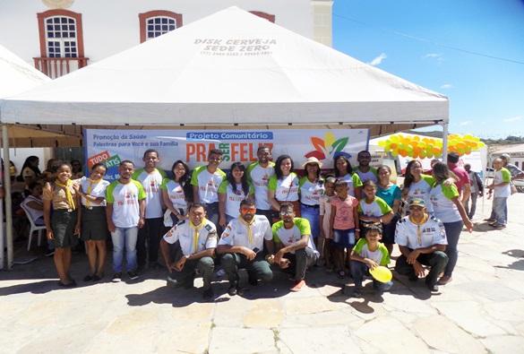 Rio de Contas: Secretaria Municipal promove feira de saúde em parceria com a igreja Adventista