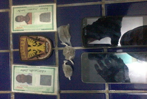Polícia de Brumado prende indivíduos com drogas; ambos suspeitos de terem assaltado transeuntes