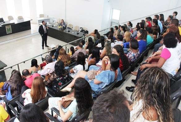 Secretaria de Desenvolvimento Social de Livramento promoveu palestra de capacitação de conselheiros tutelares