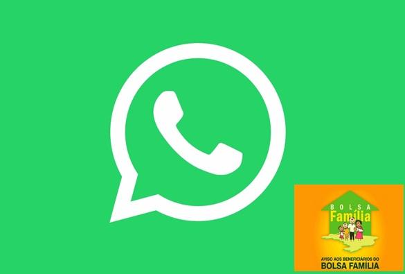 Mensagem falsa de liberação de 13º do Bolsa Família é espalhada no WhatsApp