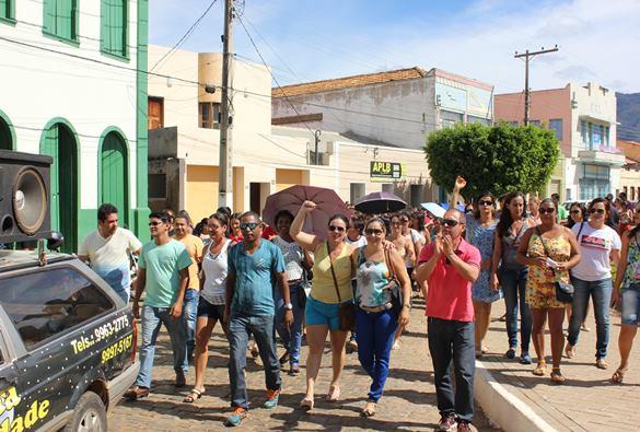 Livramento: Trabalhadores da Educação e saúde  são contra á reforma da Previdência